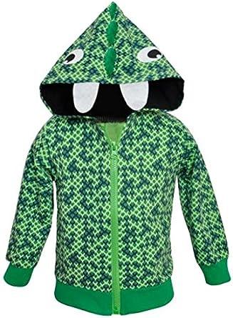 Tkria Garçon Cartoon Manteau de Dinosaure Hiver pour Bébé Veste, Garçon à Capuche Blouson Epaisse Chaud Hoodies 1 6 Ans
