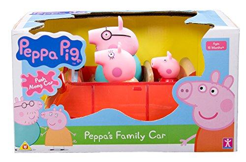 Peppa Pig - 33222 - Voiture - Push Et Go