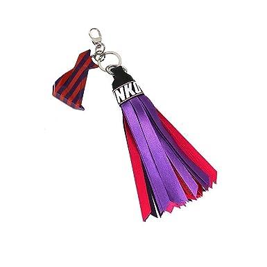 Amazon.com  Pinko Women s 1H20f1y4dmyr0 Red Purple Fabric Key Chain ... 476d0aca7