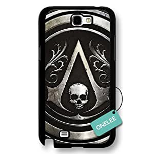 diy case - Assassins Creed Logo Black Hard Plastic For Case Samsung Galaxy S4 I9500 Cover & Cover - Black 5
