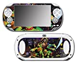 Teenage Mutant Ninja Turtles TMNT Leonardo Leo 3D TV Cartoon Movie Video Game Vinyl Decal Skin Sticker Cover for Sony Playstation Vita Regular Fat 1000 Series System