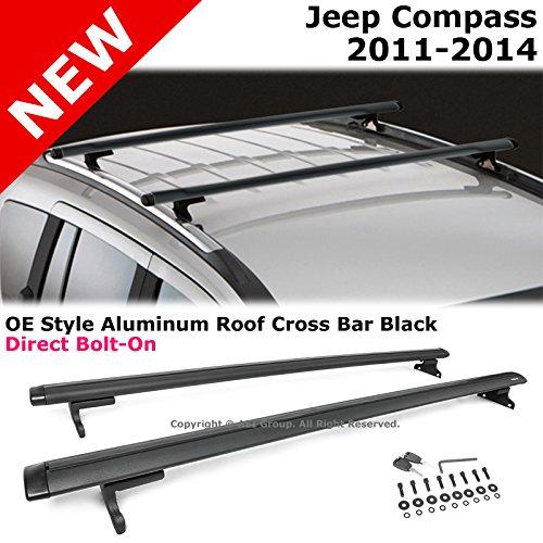 Nova for 2007 2011 honda crv cr v black roof top rail rack for 06 jeep liberty window regulator recall