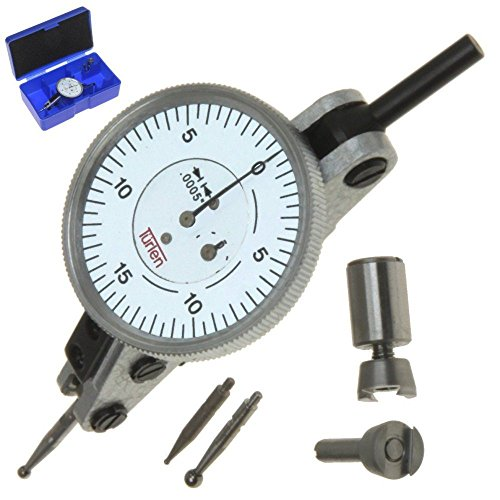 "Türlen Horizontal Dial Test Indicator Graduation 0.0005"" Range 0.060"" 1.5"" Head"