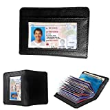 JahyShow 36 Cards Cash RFID Blocking Wallet for Men and Women