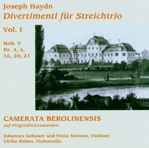 Haydn: Divertimenti for String Trio, Vol. I by Cavi-Music