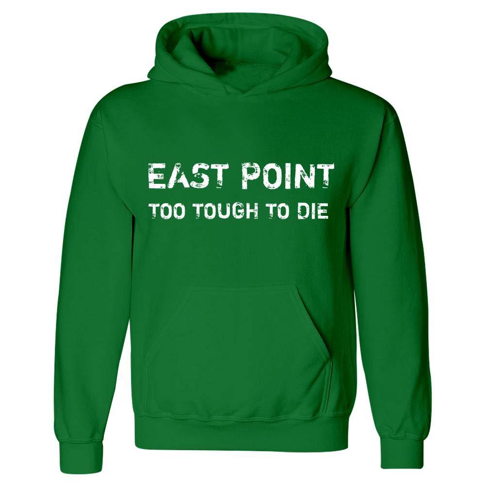 Hoodie Irish Green MESS East Point Too Tough to Die