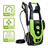 PowRyte Elite 3000 PSI 1.90 GPM Electric Pressure Washer, Electric Power Washer with 5 Quick-Connect Spray Tips