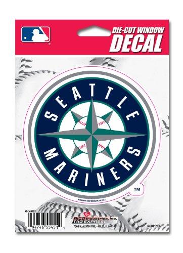 (MLB Seattle Mariners Die-Cut Window)
