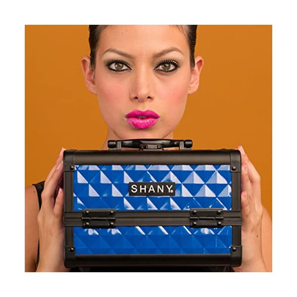 SHANY Cosmetics Makeup Train Case with Mirror
