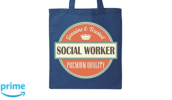 Amazon.com: Inktastic Social Worker Funny Gift Idea Tote Bag ...
