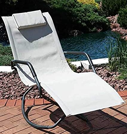 Amazon.com: Oasis Outdoor- Freestyle Rocker silla plegable ...