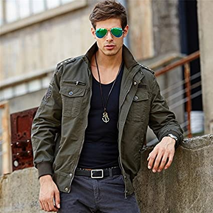 Amazon.com: NEW Tactical Military Jacket Men Mens Army Bomber Jacket Windbreaker Waterproof Autumn Militar Style Male Coat Ceket.DA42: Clothing