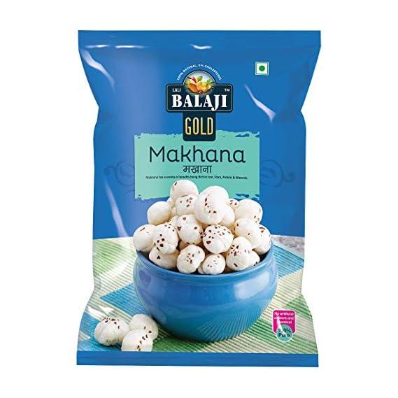 Lali Balaji Foxnut (Makhana) 100gm (Pack of 1)