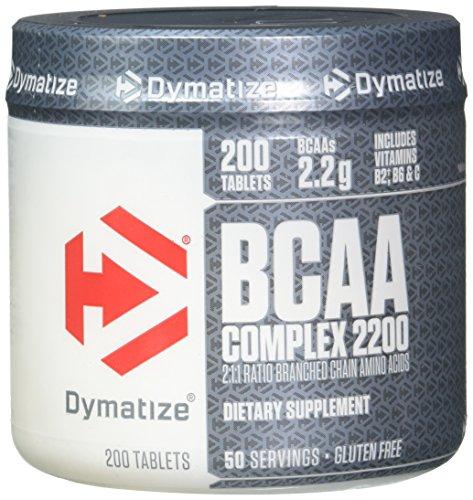 Dymatize BCAA Complex 2200, 200 Caplets by Dymatize