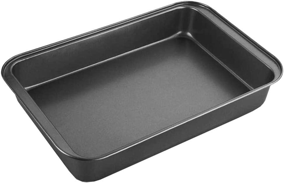 32 x 22 cm Assiettes /à viandes et /à poissons ou lasagnes et p/âtisserie Plateau en acier au carbone Nettoyage facile EUROXANTY/® Plat /à Four Antiadh/ésif