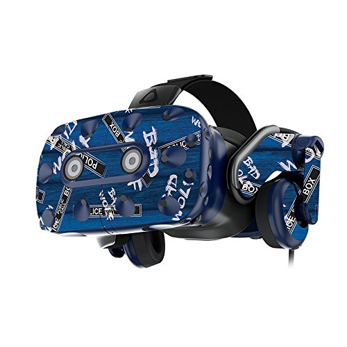 MightySkins Skin For HTC VIVE Pro VR Headset - Time Travel Boxes | Protective, Durable, and Unique Vinyl Decal wrap cover | Easy To Apply, Remove, and Change Styles | Made in the USA by MightySkins
