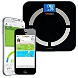 cover of Vitasigns VS-3200-B Bluetooth Digital Body Analyzer Scale, Black Glass