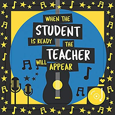 Music Teacher Gifts Ideal for Men /& Women Present for Musicians Appreciation Gift for Teachers Great Present for Studio or Classroom Decor 7x7 Tile Artwork Perfect for Music Lover