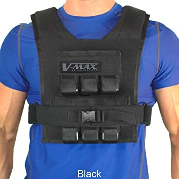 30 Lb V-Max Weight Vest – Made in USA