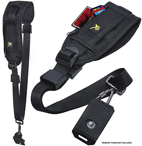 Xit XTSSS Camera Shoulder Strap with Quick Release (Black)
