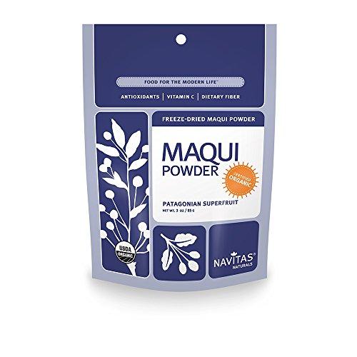 Navitas Naturals Organic Maqui Powder, 3-Ounce - Natural Blend Juice Acai
