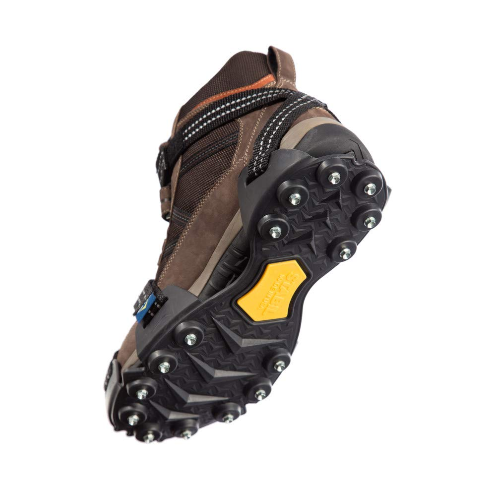 Fits Over Shoes//Boots for Anti-Slip Safety for Winter or Slippery Terrain STABILicers XXST STAB-P Stabilicer Voyager Overshoe Traction Ice Cleat for Snow Outdoors Rain Ice
