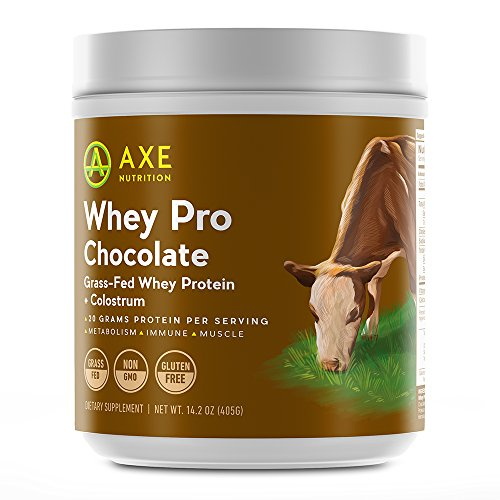 Axe Nutritions Chocolate Grass Fed Protein product image