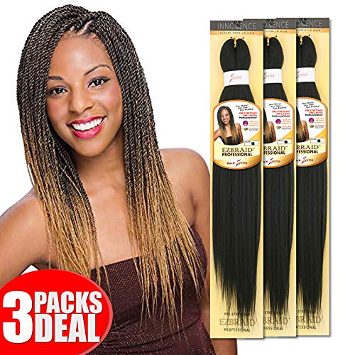[MULTI PACKS DEAL] Innocence Synthetic Pre-Stretched ORIGINAL EZ BRAID 20