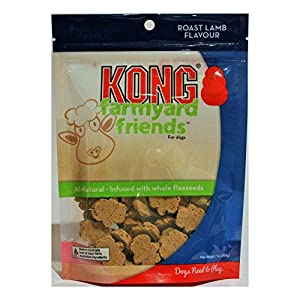 Kong – Farmyard Friends – All Natural Dog Treats (Best Used with Kong Classic Rubber Toys) – Roast Lamb Click on image for further info.