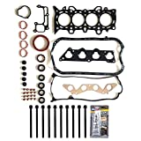 #5: ECCPP Head Gasket Bolts, Automotive Replacement Engine Head Gasket Bolts For Honda Civic EX HX D17A2 D17A6 1.7L SOHC 16V 2001-2005