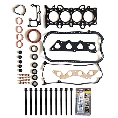 ECCPP Compatible fit for Cylinder Head Gasket Set for 2001-2005 1.7L Honda Civic EX Civic HX D17A2 D17A6 Automotive Replacement Engine Head Gaskets Kit (Installation Cylinder Head Kit)