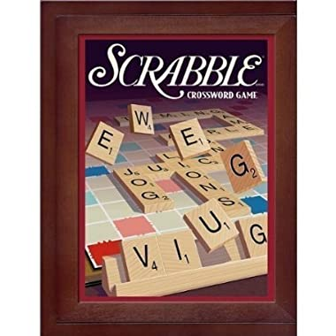 Parker Brothers Vintage Game Collection Exclusive Wooden Book Box Scrabble