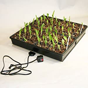 "Ken-Bar Kwik Grow 2 Tray Seed Starting Heat Mat 22"" x 21"""