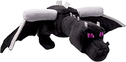 Amazon Com Official Ender Dragon 12 Stuffed Plush Toy New Toys Games