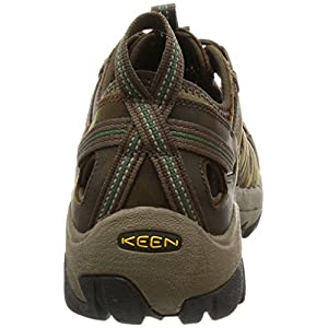 KEEN Men's Arroyo II Hiking Sandal,Slate Black/Bronze Green,10.5 M US