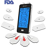 ABODY TENS Unit & EMS Combination Muscle Stimulator Relief Touch Screen FDA Cleared