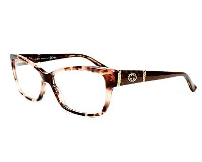 d15a4eb6d31 Amazon.com  Gucci frame GG 3559 L76 Acetate - Rhinestones Havana Rose -  Brown Violet  Shoes