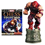 Marvel X-Men Juggernaut Black Rook Chess Piece with Collector Magazine