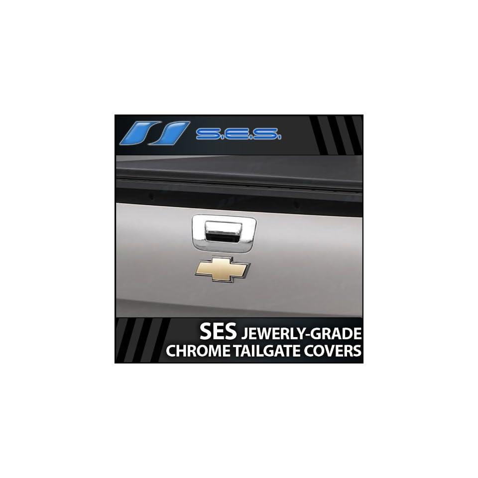 2007 2013 Chevy Silverado SES Chrome Tailgate Handle Cover (w/o