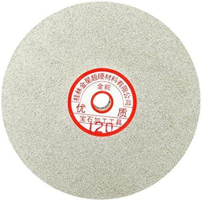 6-inch Grit 80 Diamond Coated Flat Lap Wheel Grinding Disc Polishing Tool
