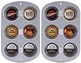 Wilton 6 Cup Jumbo Muffin Pan (Pack of 2)