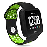 Replacement for Fitbit Versa Bands for Women and Men : Penta Stars Silicone