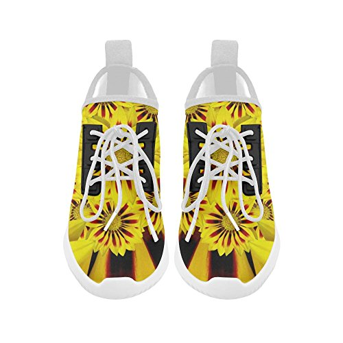 Women Dolphin Ultra for Light InterestPrint Shoes InterestPrint sunflower sunflower Running wz16fpRqOc