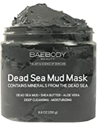 Dead Sea Mud Mask Best for Facial Treatment, Acne, Oily Skin & Blackheads - Minimizes Pores, Reduces Look of Wrinkles, and Improves Overall Complexion. Natural-Minerals From The Dead Sea 8.8 oz