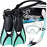 Seavenger Voyager Snorkeling Set with Gear Bag