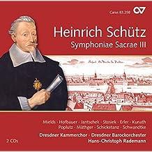 Sch??tz: Symphoniae Sacrae III, Vol. 12 by Dorothee Mields (2013-05-04)