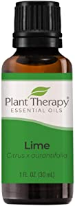 Plant Therapy Lime Essential Oil 30 mL (1 oz) 100% Pure, Undiluted, Therapeutic Grade