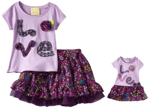 Dollie & Me Little Girls' Love Graphic Skooter Set