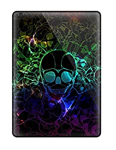 Waterdrop Snap-on Neon Skull Cases For Ipad Air