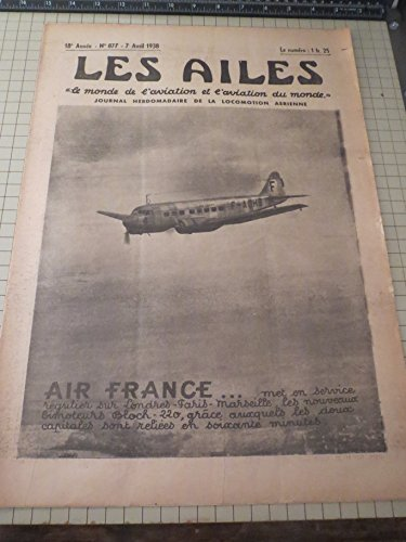 april-71938-les-ailes-the-wings-french-aviation-publication-air-france-service-handley-page-harrow-j